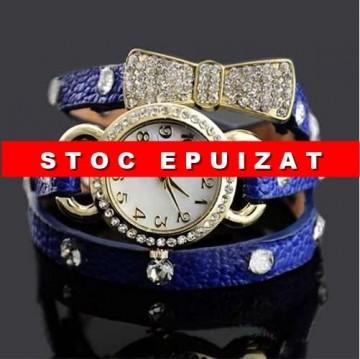 Poze Ceas de dama cu cristale - Royal Blue