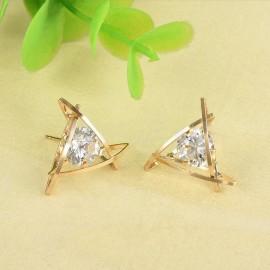 Poze Cercei eleganti cu cristale, model original
