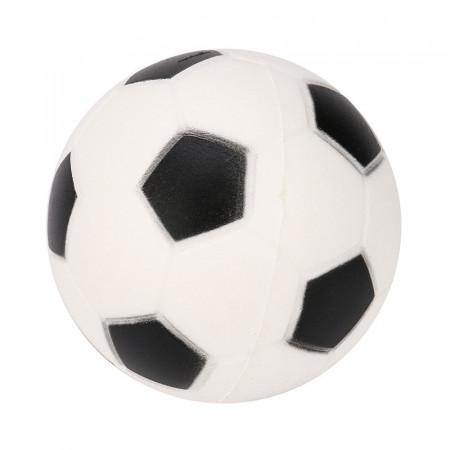 Poze Jucarie Squishy ieftina, model minge de fotbal, alba