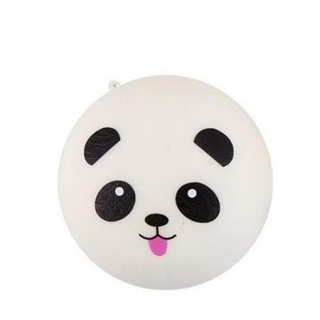 Poze Jucarie Squishy, model ursulet panda cu limbuta roz