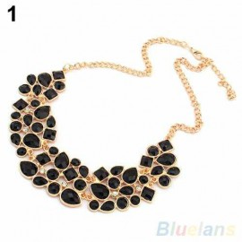 Poze Colier fashion de dama, stil si eleganta - black