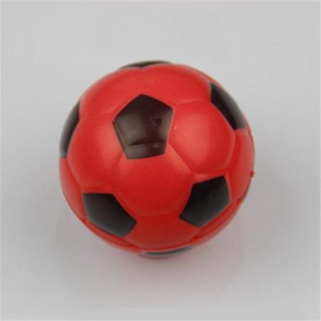 Jucarie Squishy ieftina, model minge de fotbal, rosie