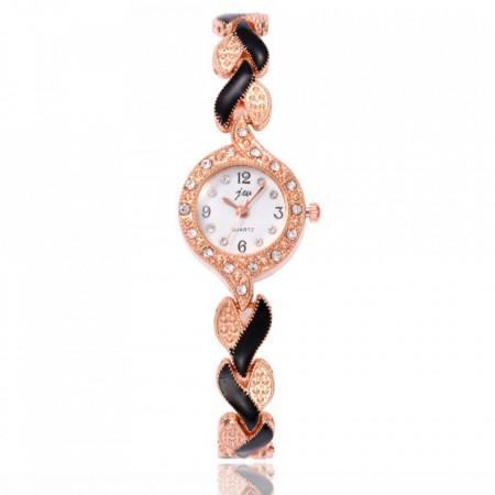 ceas dama ieftin auriu cu negru