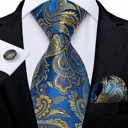 Set cravata + batista + butoni - matase 100% - model 144