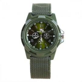 Ceas barbatesc sport / militar - Swiss Army, culoare kaki (verde militar)