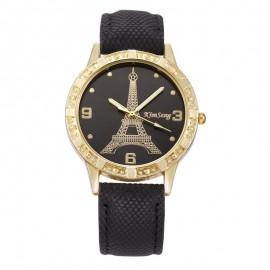 Ceas dama cu Tr. Eiffel, Black Style