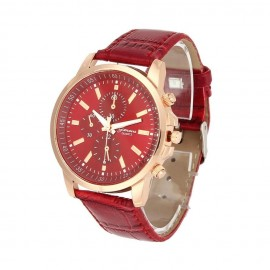 Ceas dama Geneva Classic Red