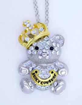 Poze Colier fashion cu pandant King Bear