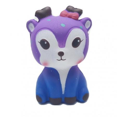 Poze Jucarie Squishy parfumata, model Galactic Deer, purple