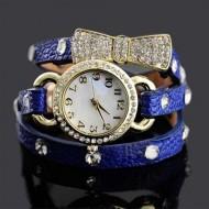 Ceas de dama cu cristale - Royal Blue