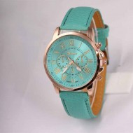 Ceas fashion de dama, Geneva - mint green
