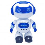 Jucarie ieftina interaciva Robotelul dansator cu miscare, sunete si lumini