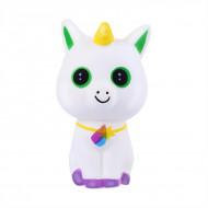 Jucarie Squishy parfumata model pisicuta unicorn cu pandantiv