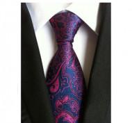 Model 22 - cravata matase naturala 100%, tesatura jaquard + cutie cadou