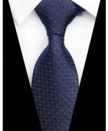 Model 33 - cravata matase naturala 100%, tesatura jaquard