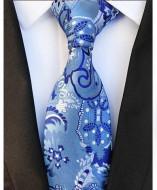 Model 51 - cravata matase naturala 100%, tesatura jaquard