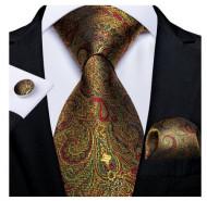 Set cravata + batista + butoni - matase 100% - model 146
