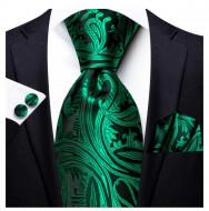 Set cravata + batista + butoni - matase 100% - model 161