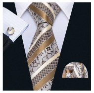 Set cravata + batista + butoni - matase 100% - model 171