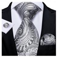 Set cravata + batista + butoni - matase 100% - model 180