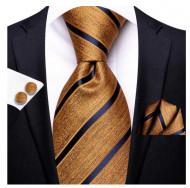 Set cravata + batista + butoni - matase 100% - model 189