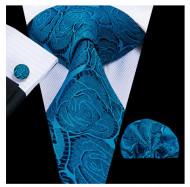 Set cravata + batista + butoni - matase 100% - model 198