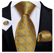 Set cravata + batista + butoni - matase 100% - model 205