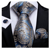 Set cravata + batista + butoni - matase 100% - model 215