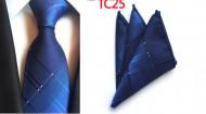 Set cravata + batista - matase 100%, tesatura Jaquard - model 155