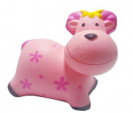 Squishy Jumbo ieftina model Vacuta Vesela, roz