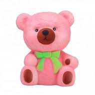 Squishy Jumbo Max, parfumata, Teddy Bear, roz
