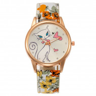 Ceas dama ieftin Fancy Kitty, model 3