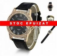 ceas de dama Womage, cu cristale, elegant