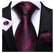 Set cravata + batista + butoni - matase 100% - model 147