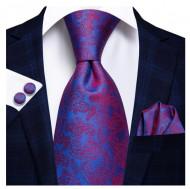 Set cravata + batista + butoni - matase 100% - model 162