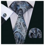 Set cravata + batista + butoni - matase 100% - model 172