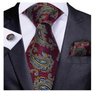 Set cravata + batista + butoni - matase 100% - model 206
