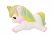 Squishy ieftina, jucarie model calut unicorn