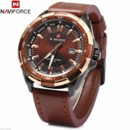 Ceas barbatesc Naviforce, NF9056M, Speed Master - Brown