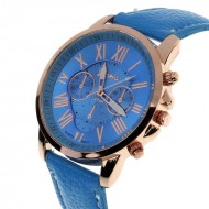 Ceas dama Geneva - Light Blue