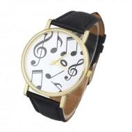 Ceas dama Music Hour - negru