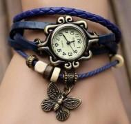 Ceas de dama, pandant fluture