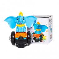Jucarie ieftina interaciva Elefantica Bombo cu sunete, lumini si miscare