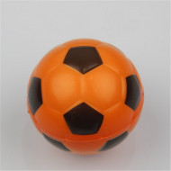 Jucarie Squishy ieftina, model minge de fotbal, orange