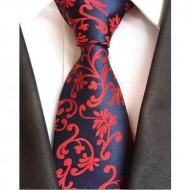 Model 24 - cravata matase naturala 100%, tesatura jaquard