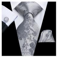 Set cravata + batista + butoni - matase 100% - model 138