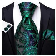 Set cravata + batista + butoni - matase 100% - model 163