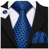 Set cravata + batista + butoni - matase 100% - model 173