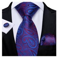 Set cravata + batista + butoni - matase 100% - model 182