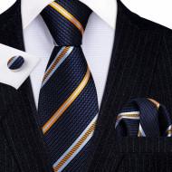 Set cravata + batista + butoni - matase 100% - model 199